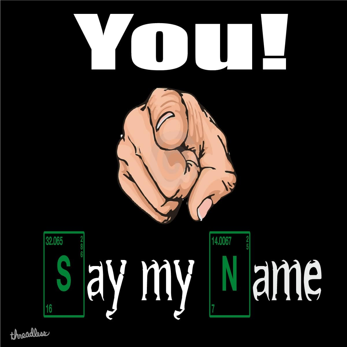 Say my Name ! by Peveralli on Threadless
