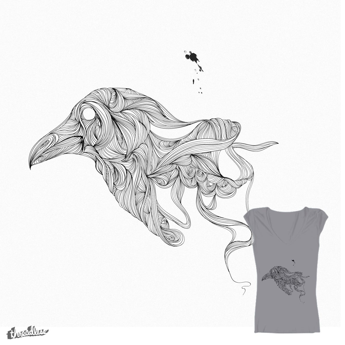 Raven Rules by margaw on Threadless