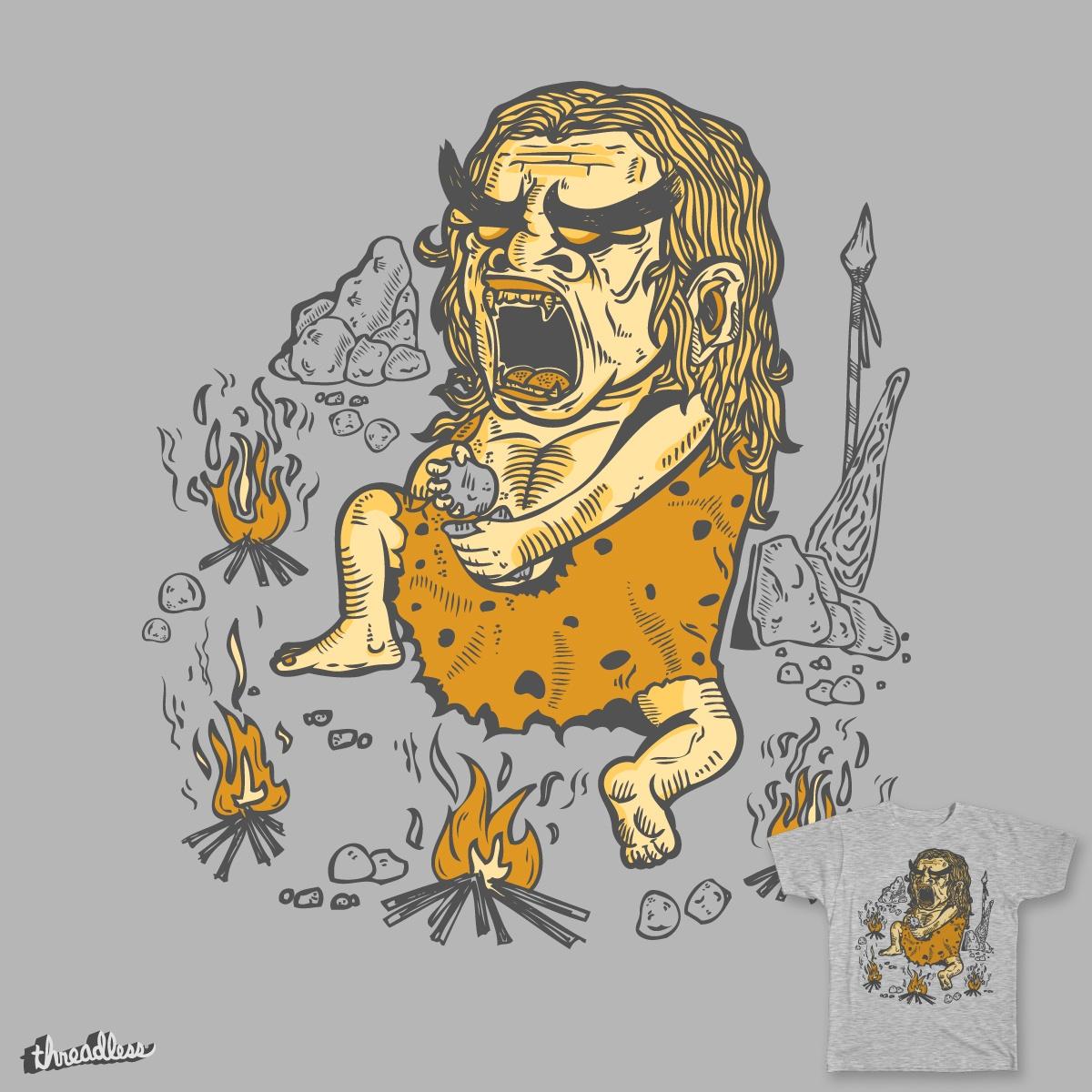 Prehistoric Pyromaniac by Timo_Ambo on Threadless
