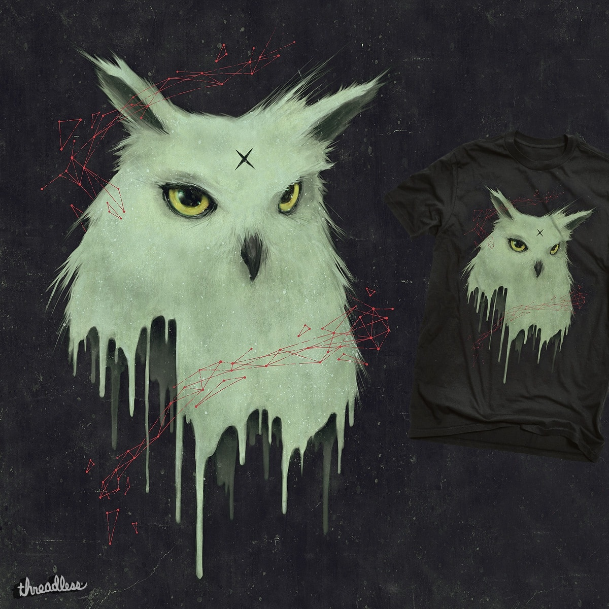 Melting Owl by tetsoo on Threadless