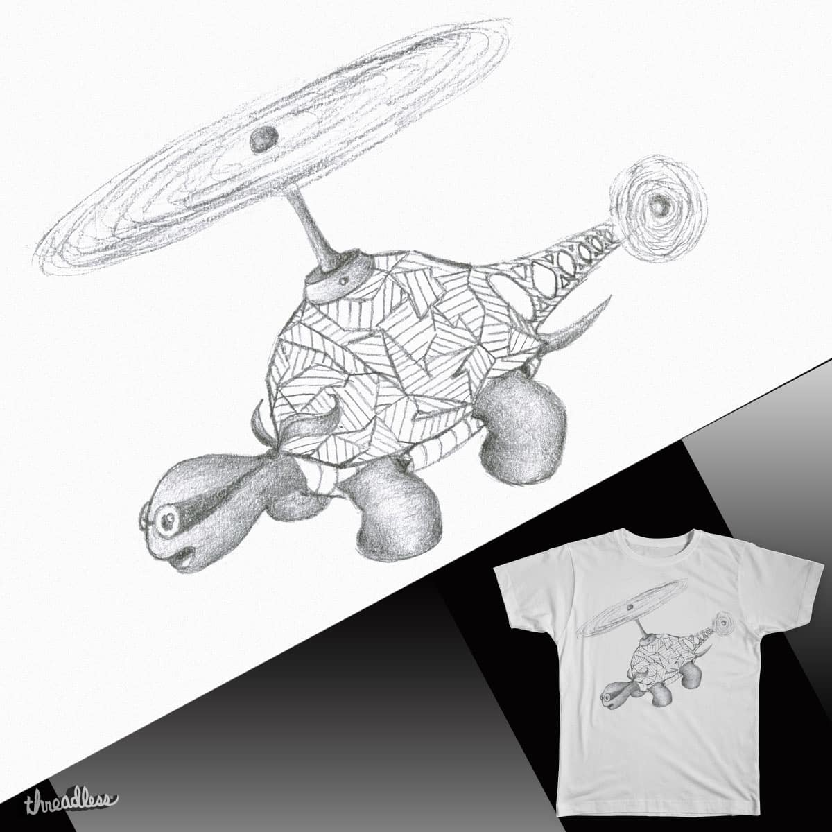 Turtle-Copter by Miloriginal on Threadless