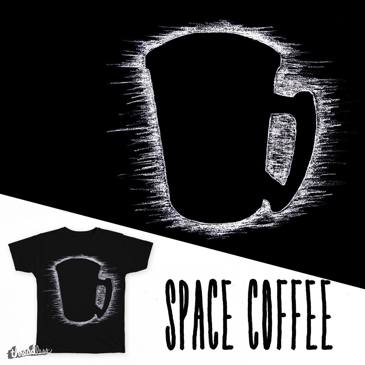Space Coffee by Miloriginal on Threadless