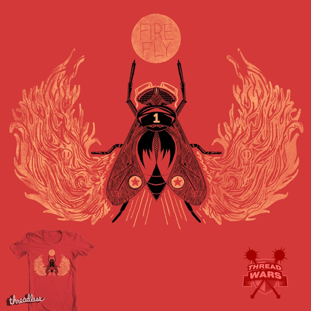 Fire Fly by Steger on Threadless