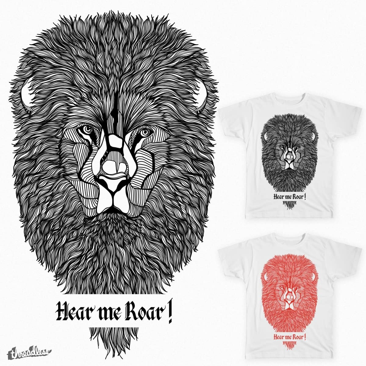 The Lion by topf52 on Threadless