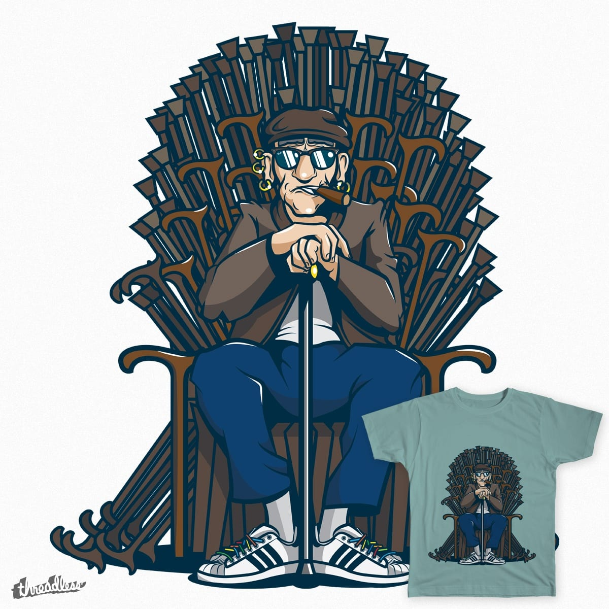 The Cane Throne by Theriessa on Threadless