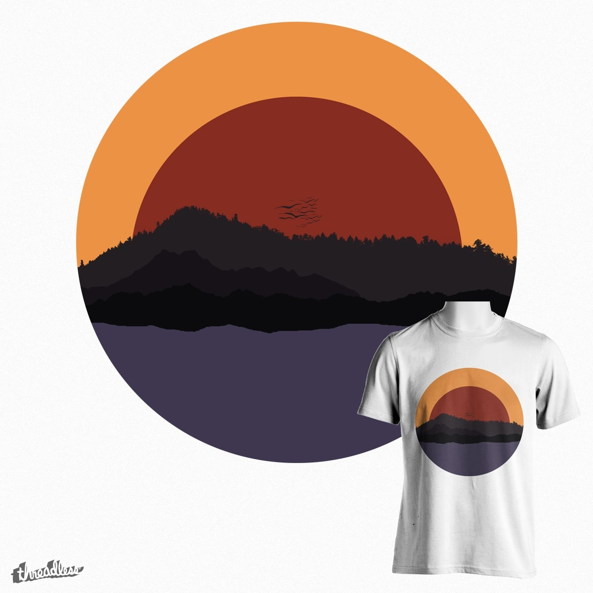 Sunset by andreicalkins on Threadless