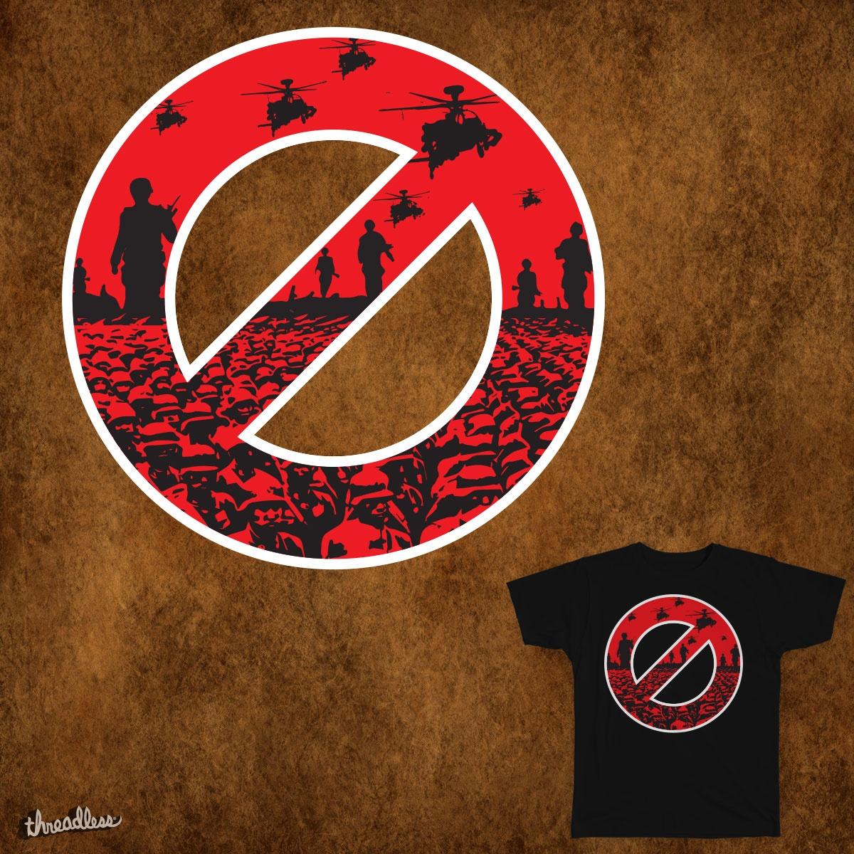 No Wars allowed by rroknom on Threadless