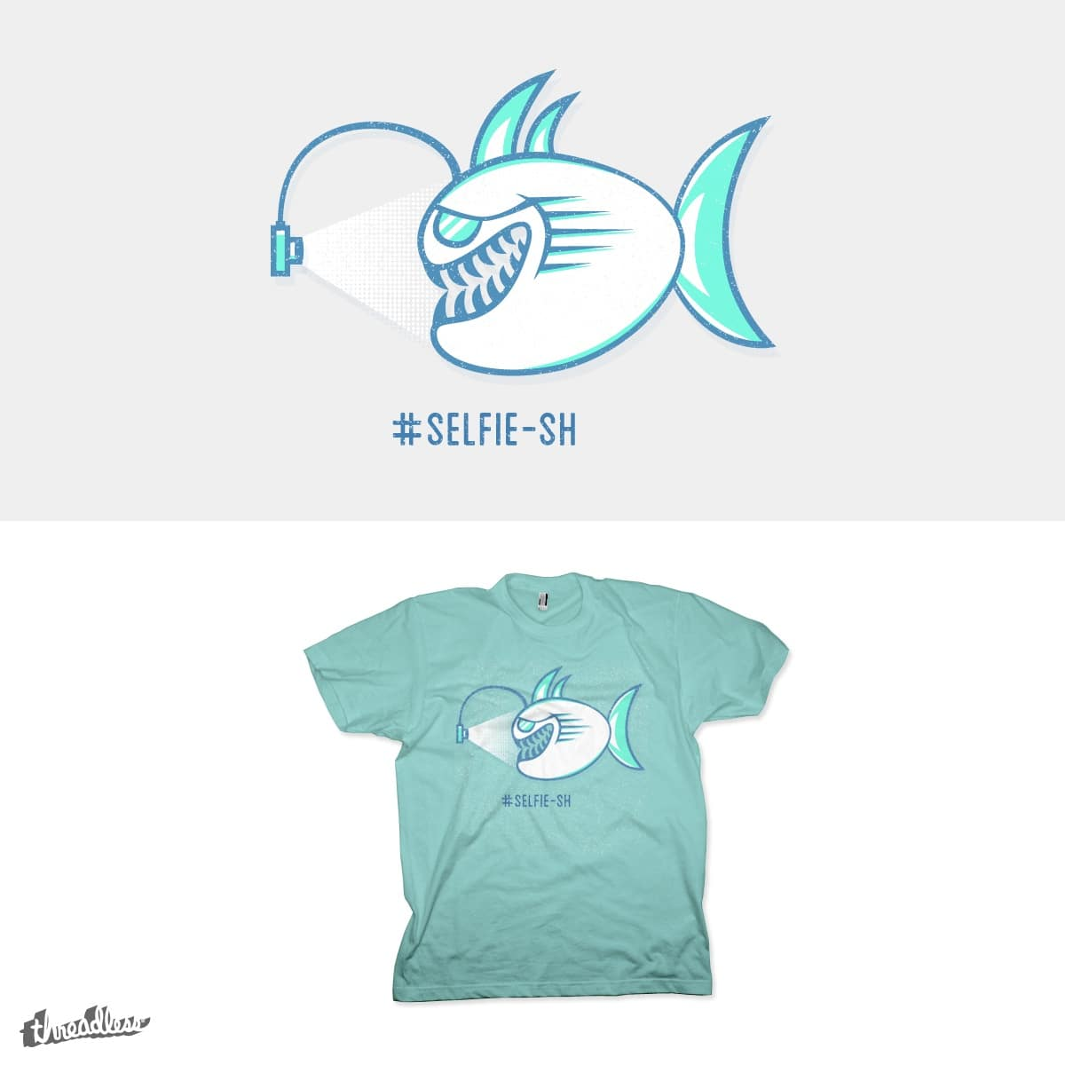 SELFIE-SH by addu on Threadless