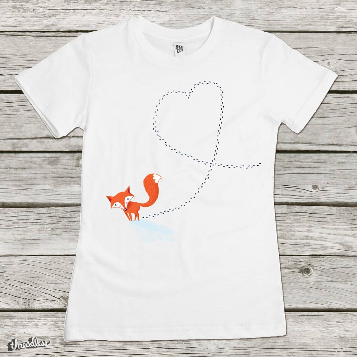 Foxy Love by DinoMike on Threadless