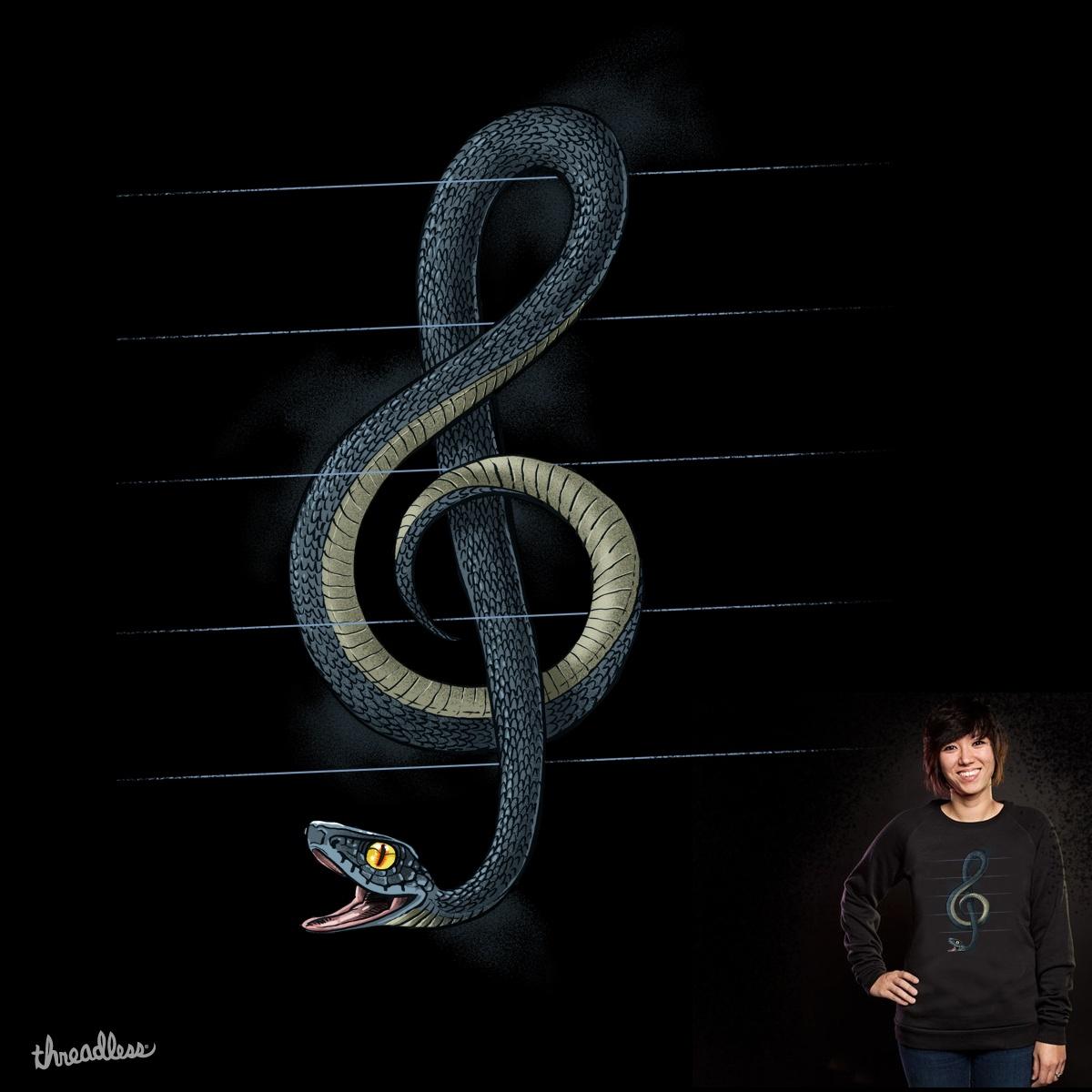 Snake Note by Oktomanuba on Threadless