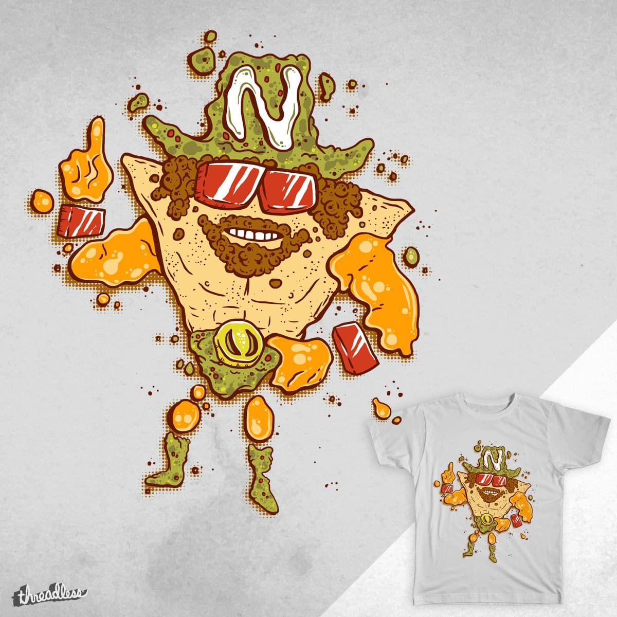 Nacho Man Randy Salvaje by bennyd302 on Threadless