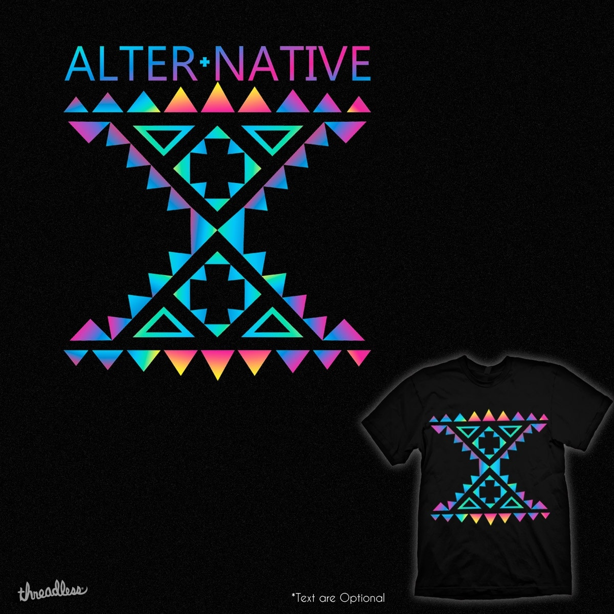 AlterNative by kuli_grafis on Threadless
