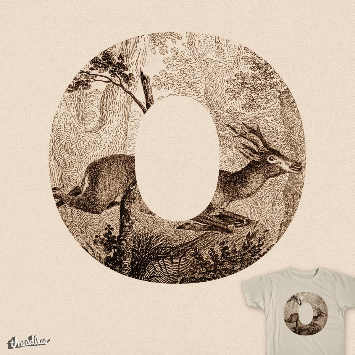 O Deer O Deer by ThePaperCrane on Threadless