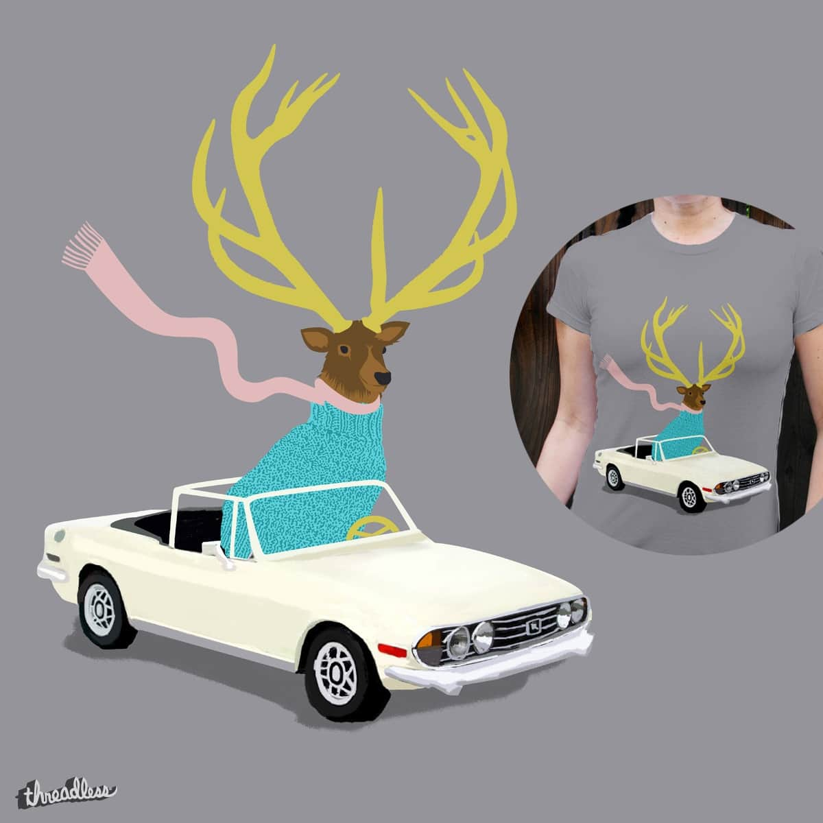 The Stag by levman on Threadless