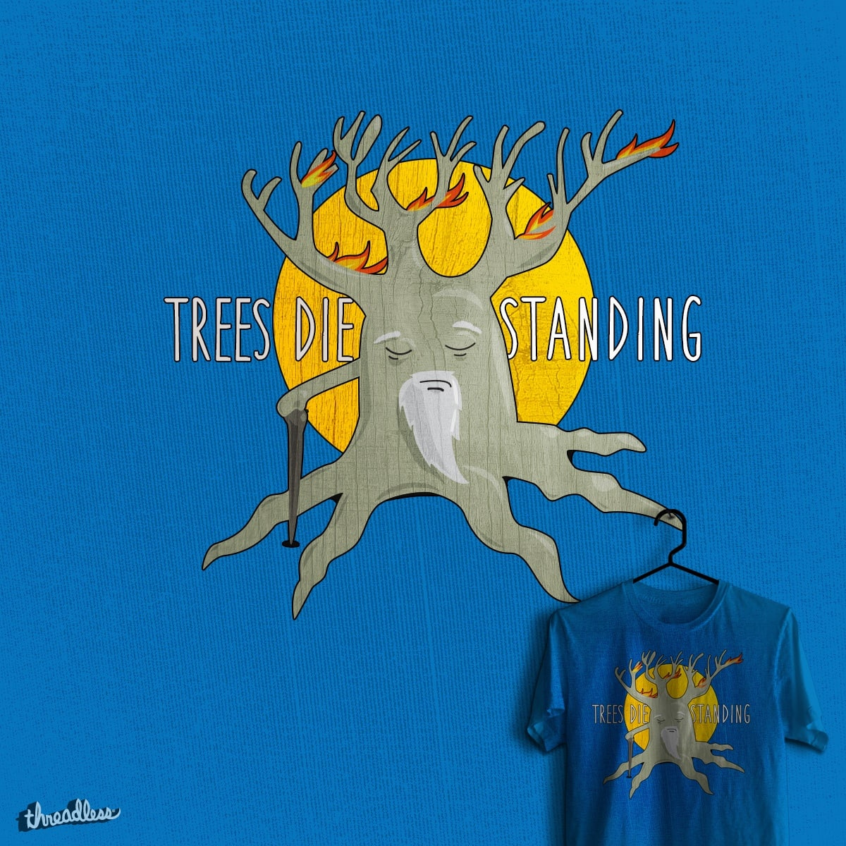 Trees die standing by Larage on Threadless