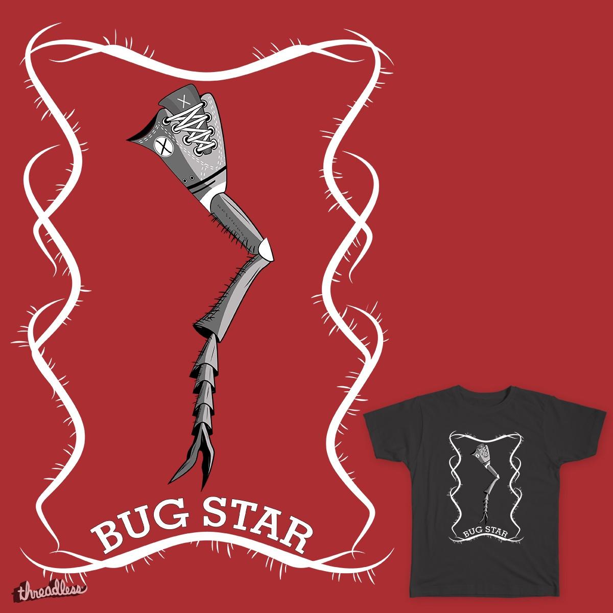 Bug Star by EdiLOp80s on Threadless