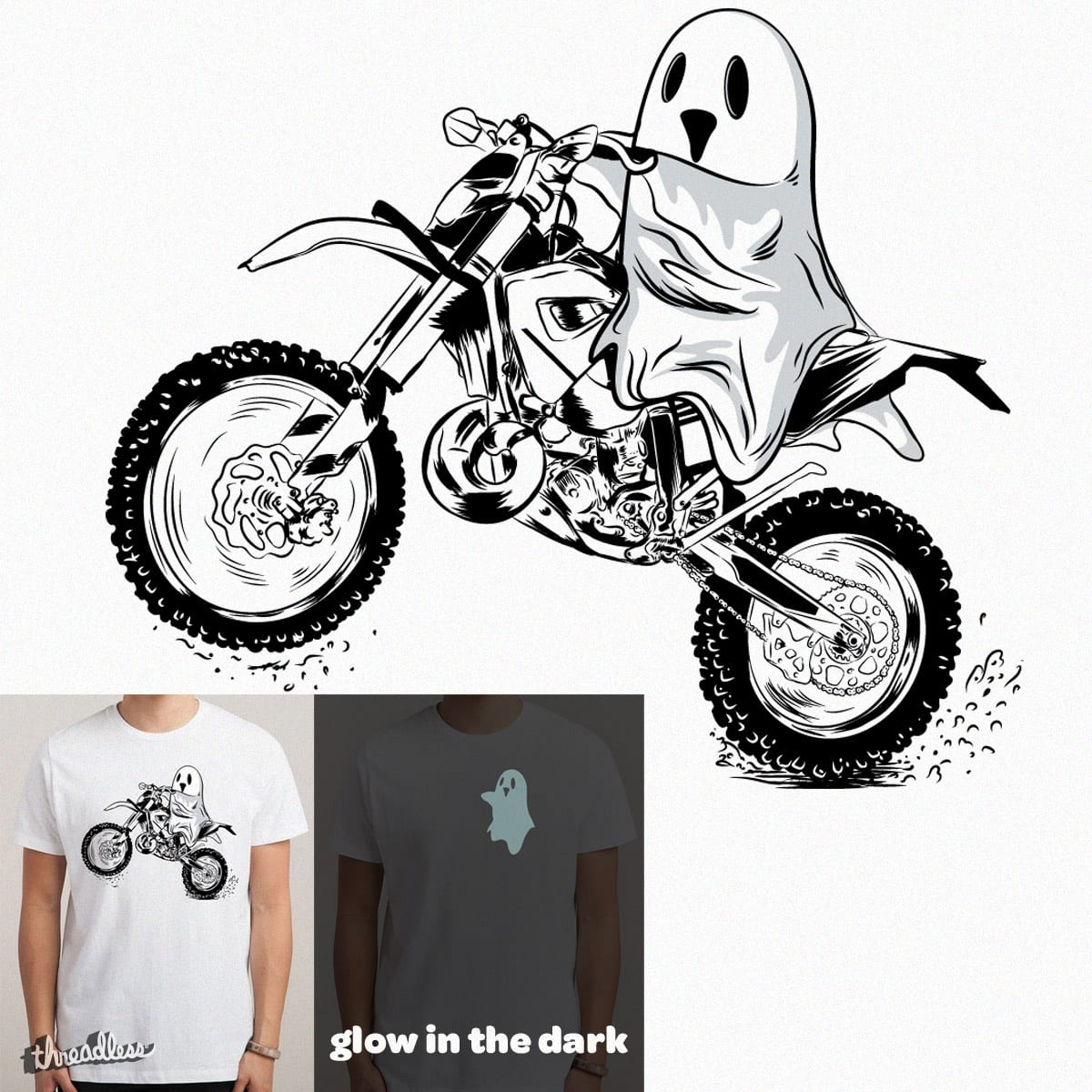GHOST RIDER by mainial on Threadless