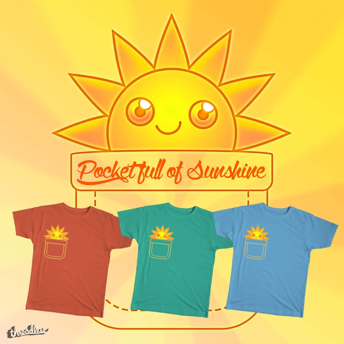 Pocket Full of Sunshine! by Helenasia on Threadless