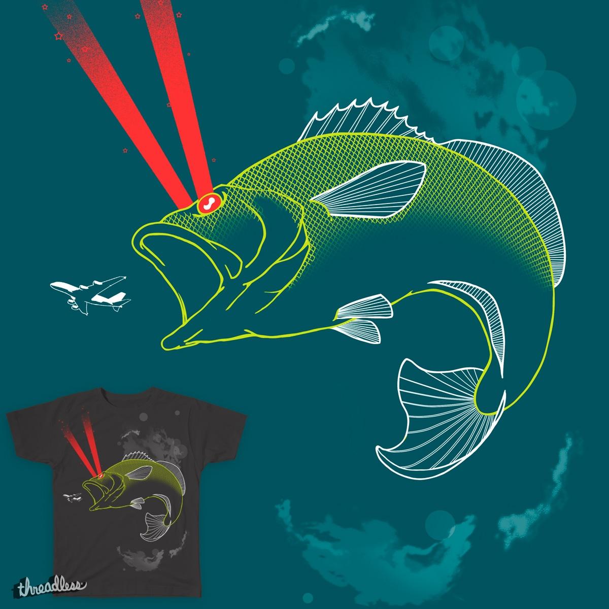 Laser Bass by galehaut on Threadless