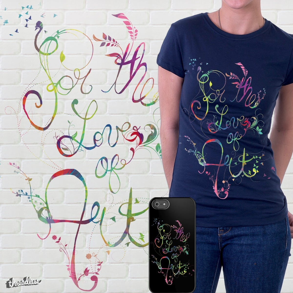 For the Love of Art by Caites on Threadless