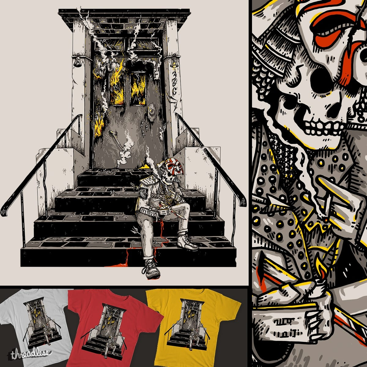 On Death's Doorstep by EyeSick on Threadless