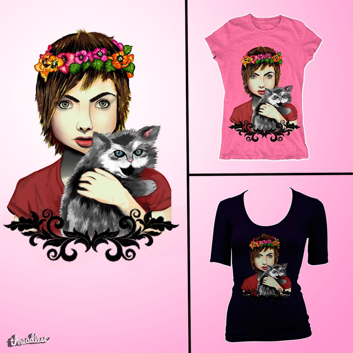 My Kitty by giselajimenez10 on Threadless