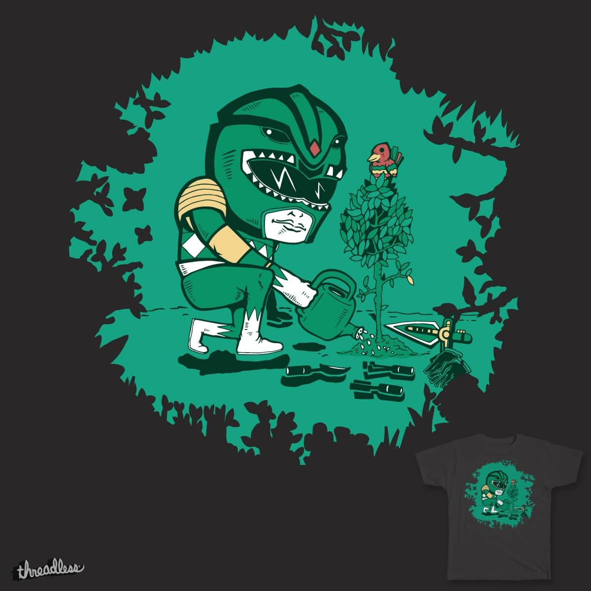 Saving the Green Planet by Timo_Ambo on Threadless