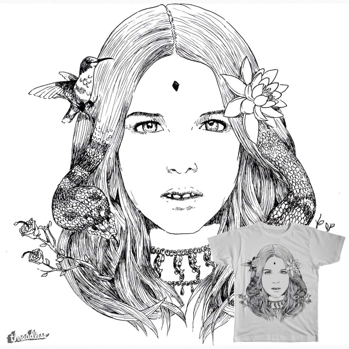 Indian Girl by antovic on Threadless
