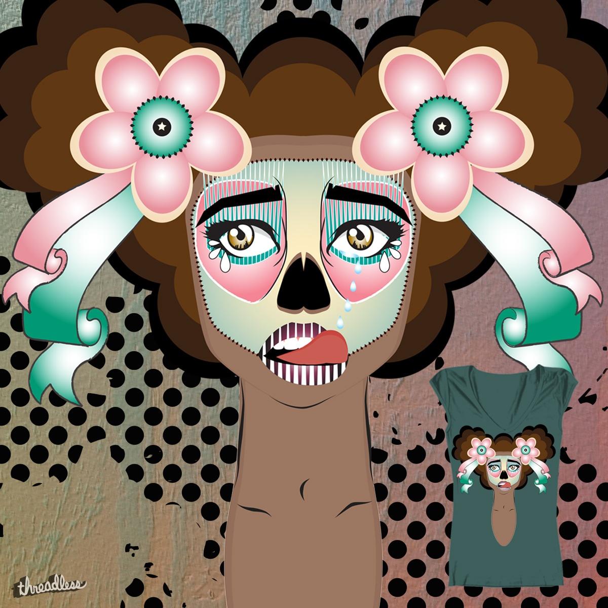 Sugar Skull Girl Candy by roro.did.onna on Threadless