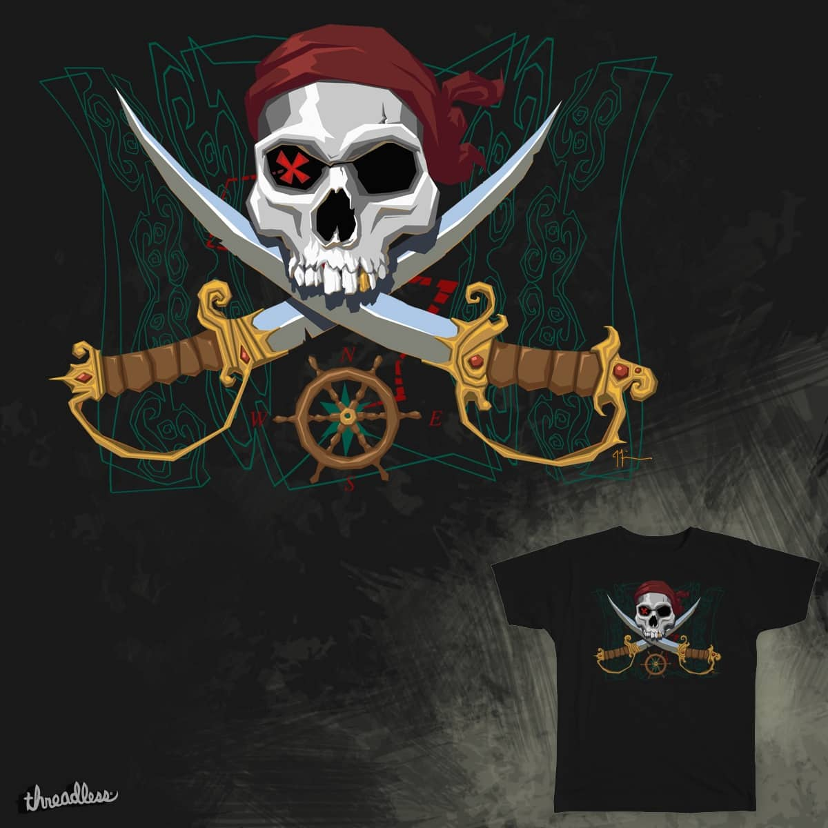 aaarrrrr fun times by jfinnart on Threadless
