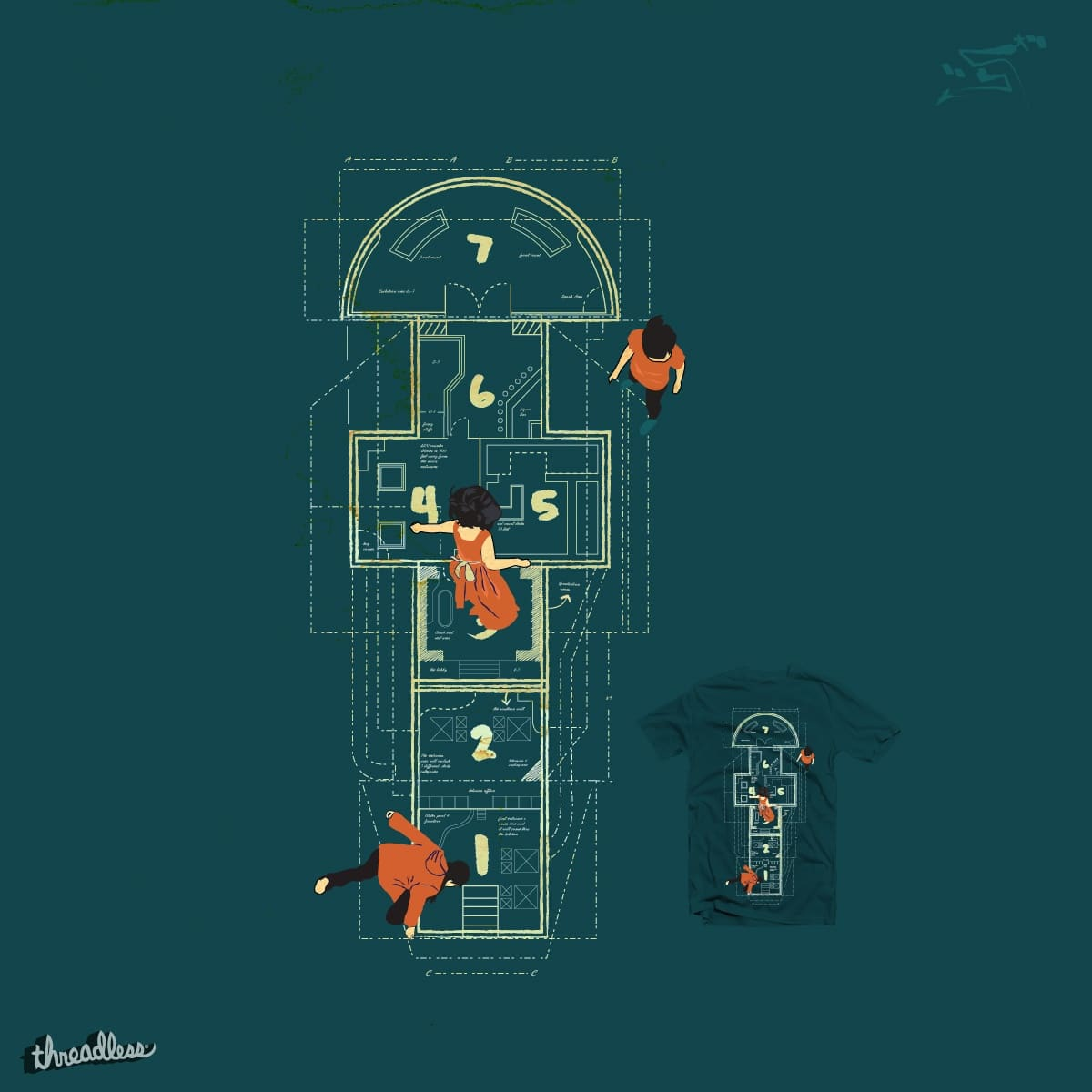 Hopscotch by mucro on Threadless