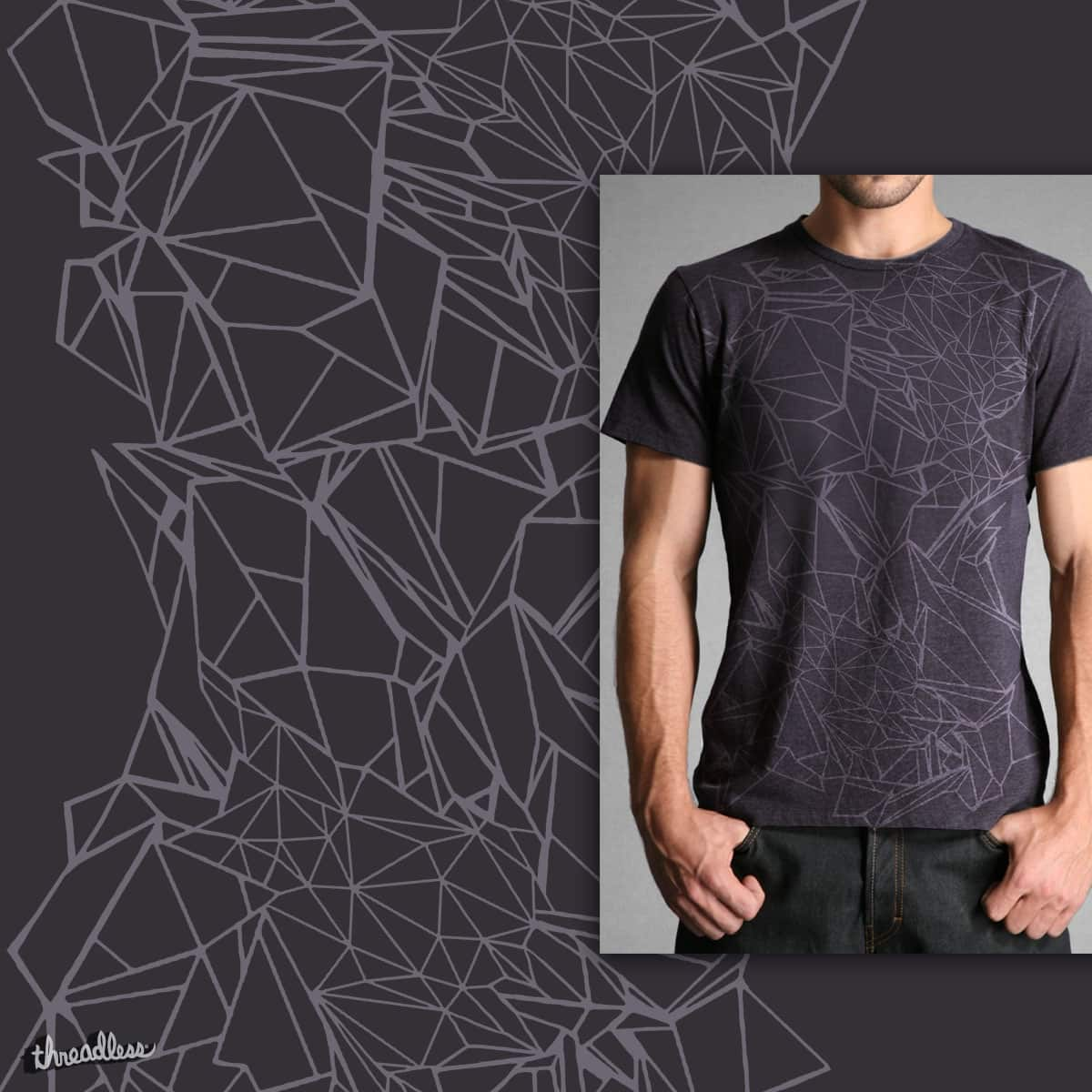 Crystal dimension by yeoul4 on Threadless