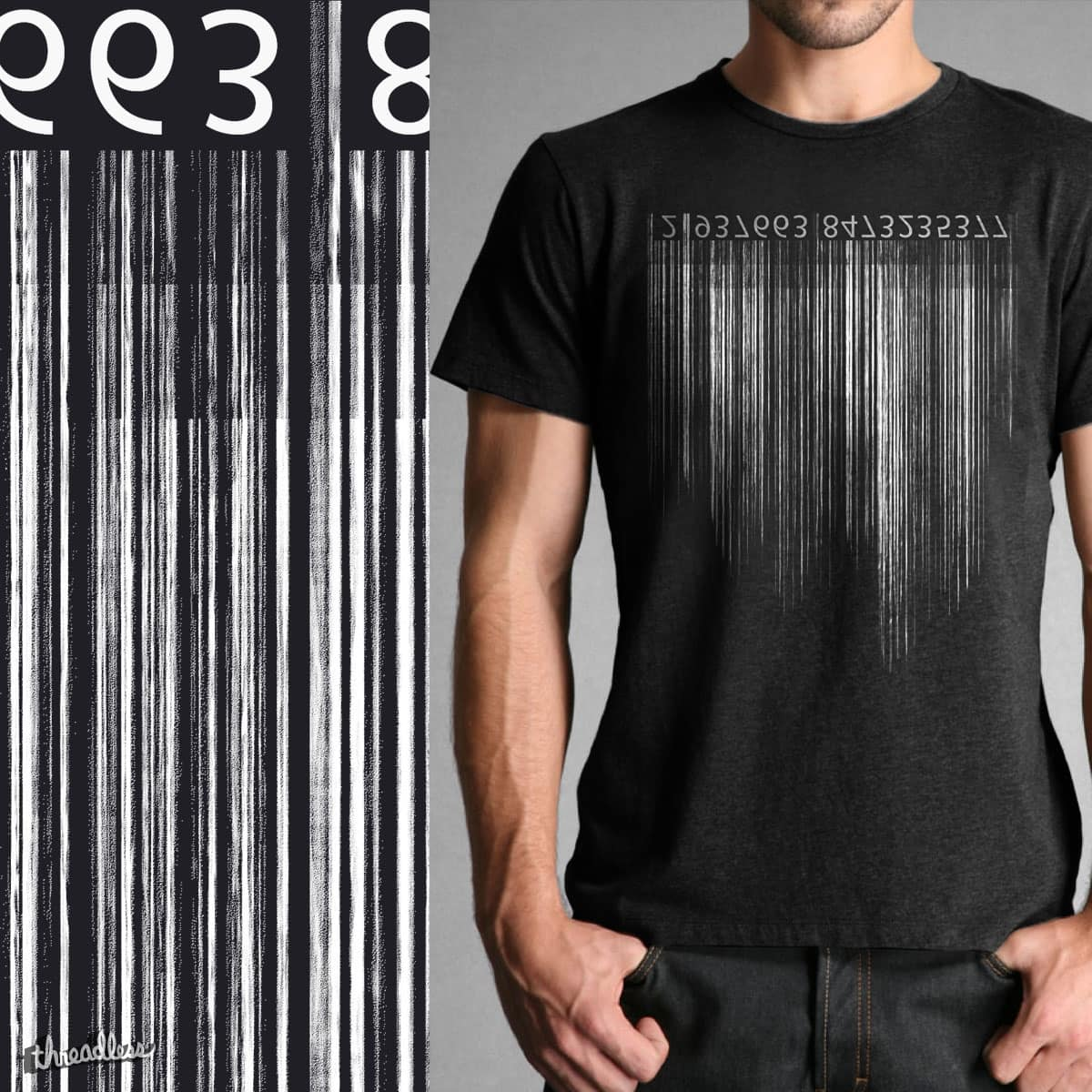 Distressed Barcode by yeoul4 on Threadless