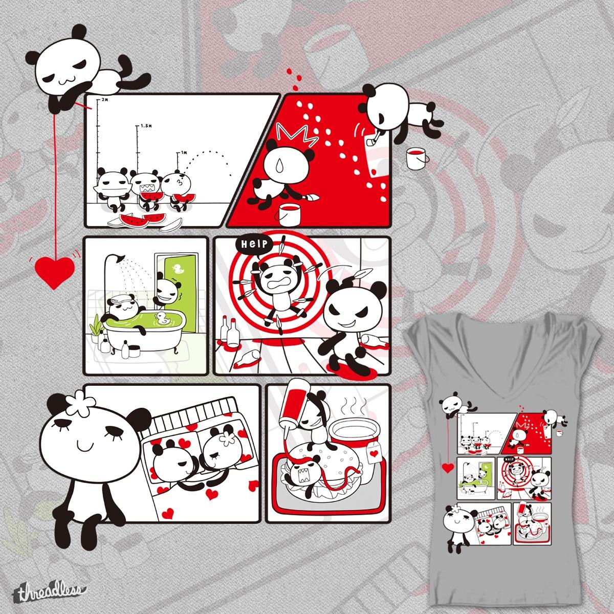 Panda daily... by YUURAI on Threadless