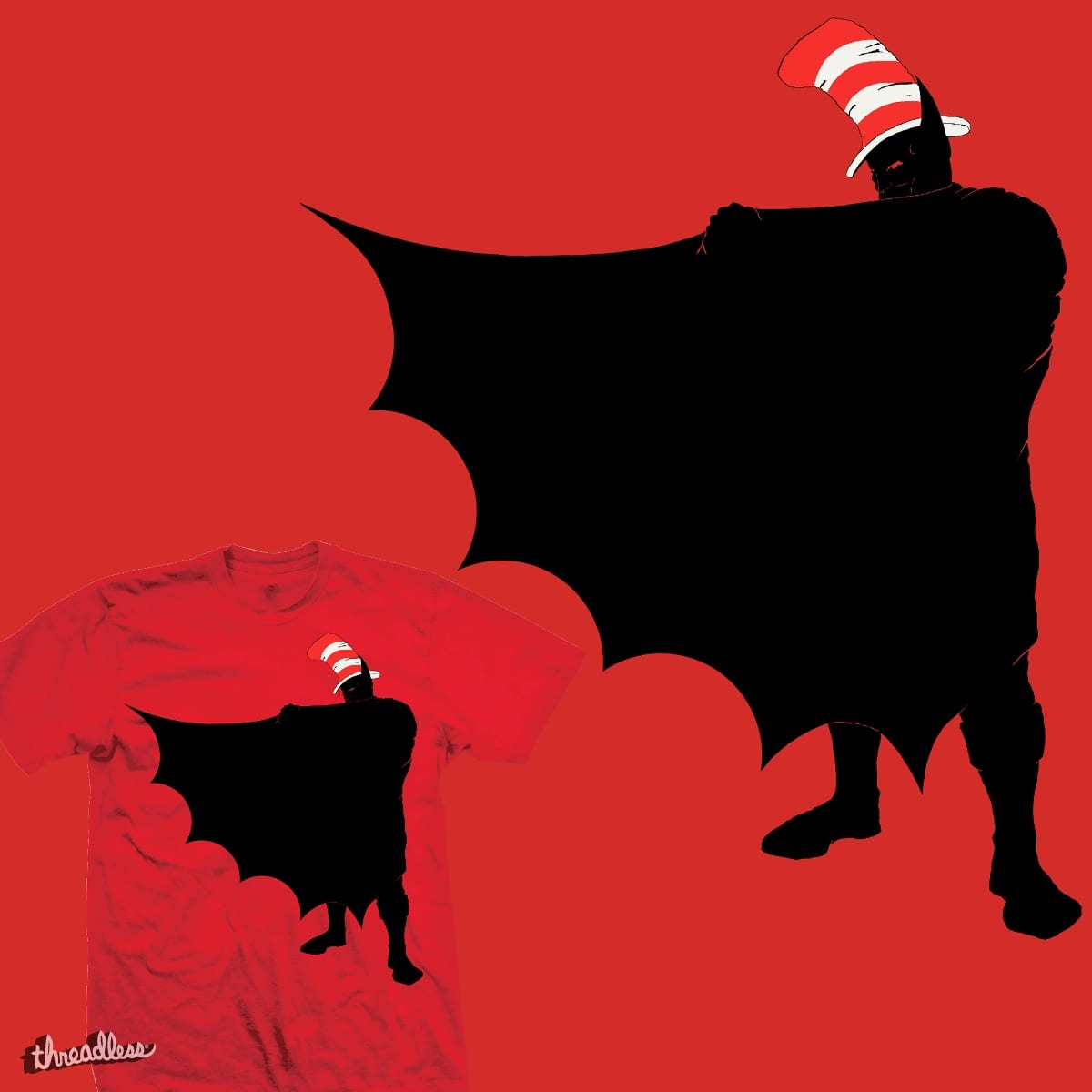 Bat in the Hat by gl35 on Threadless