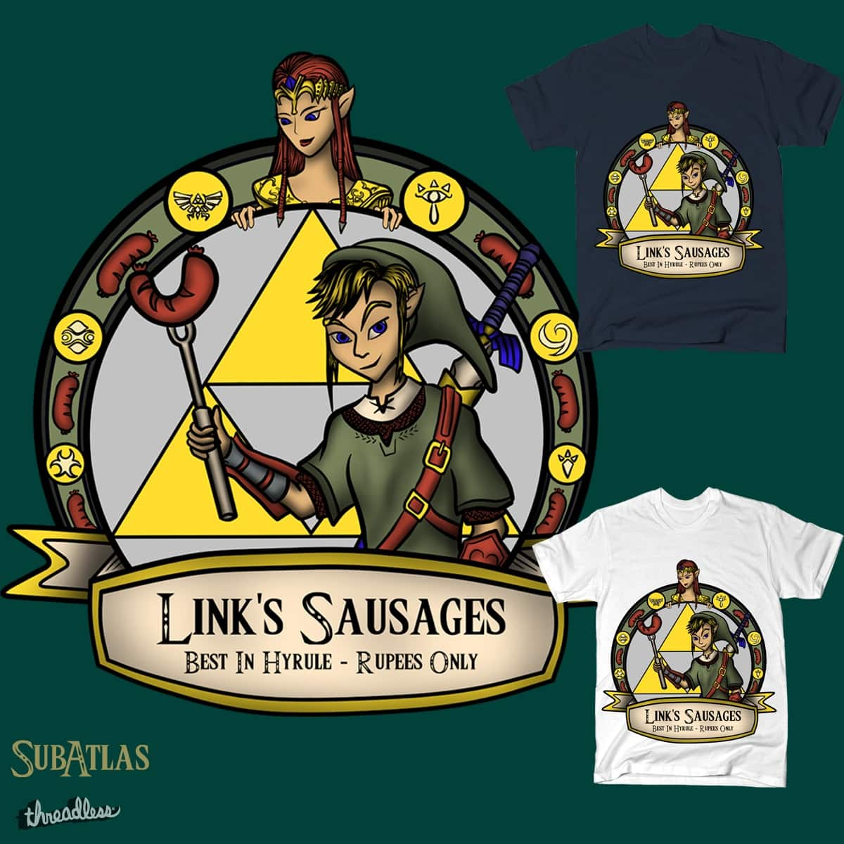 Link's Sausages by subatlas on Threadless