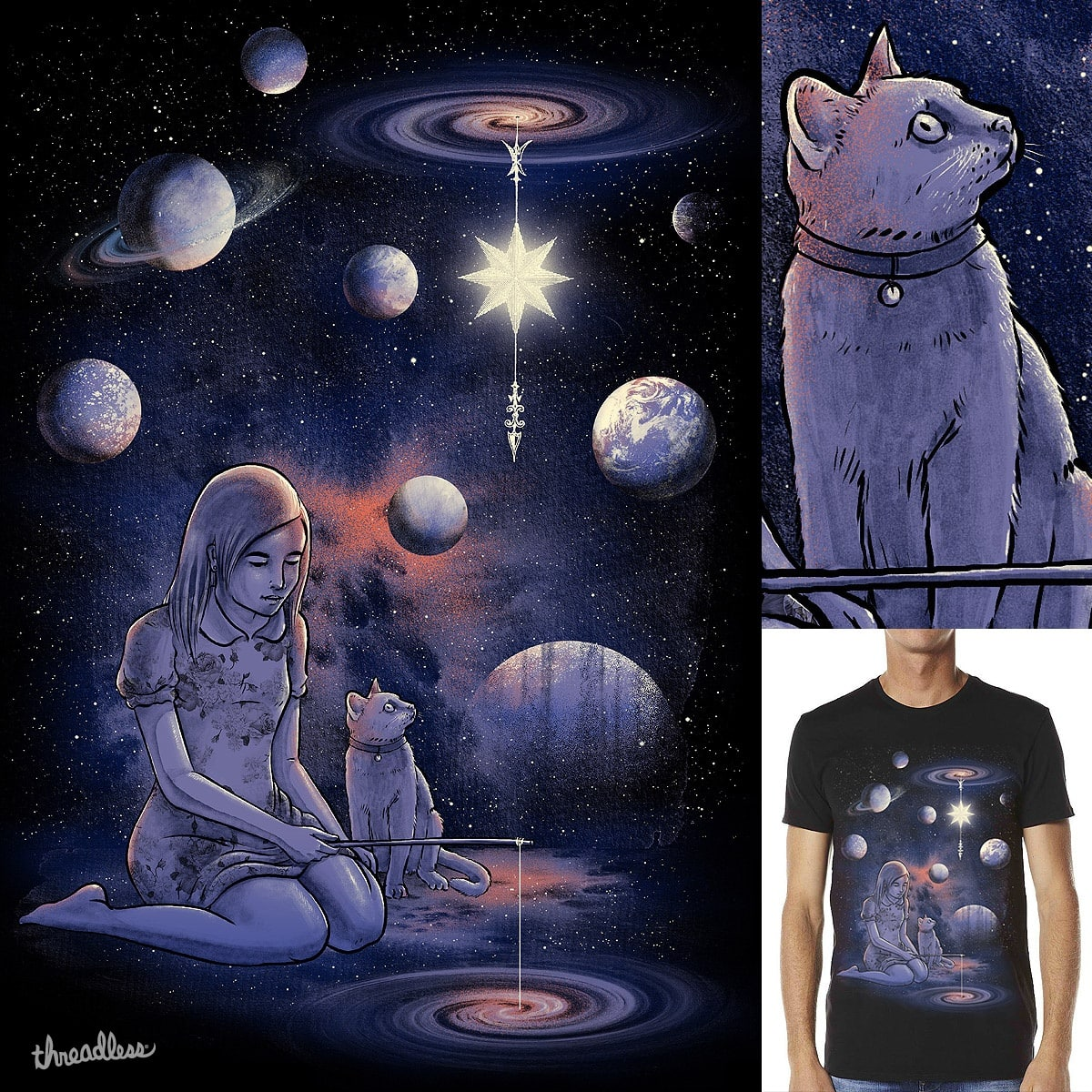 LOOK UP LITTLE SASSY by dzeri29 and alfboc on Threadless