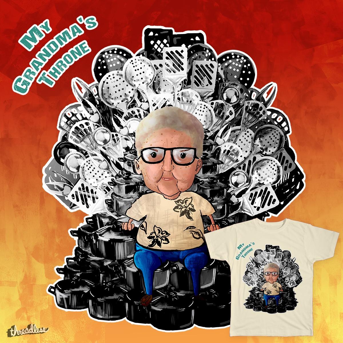 Score Grandma S Throne By Thepalebluedot On Threadless