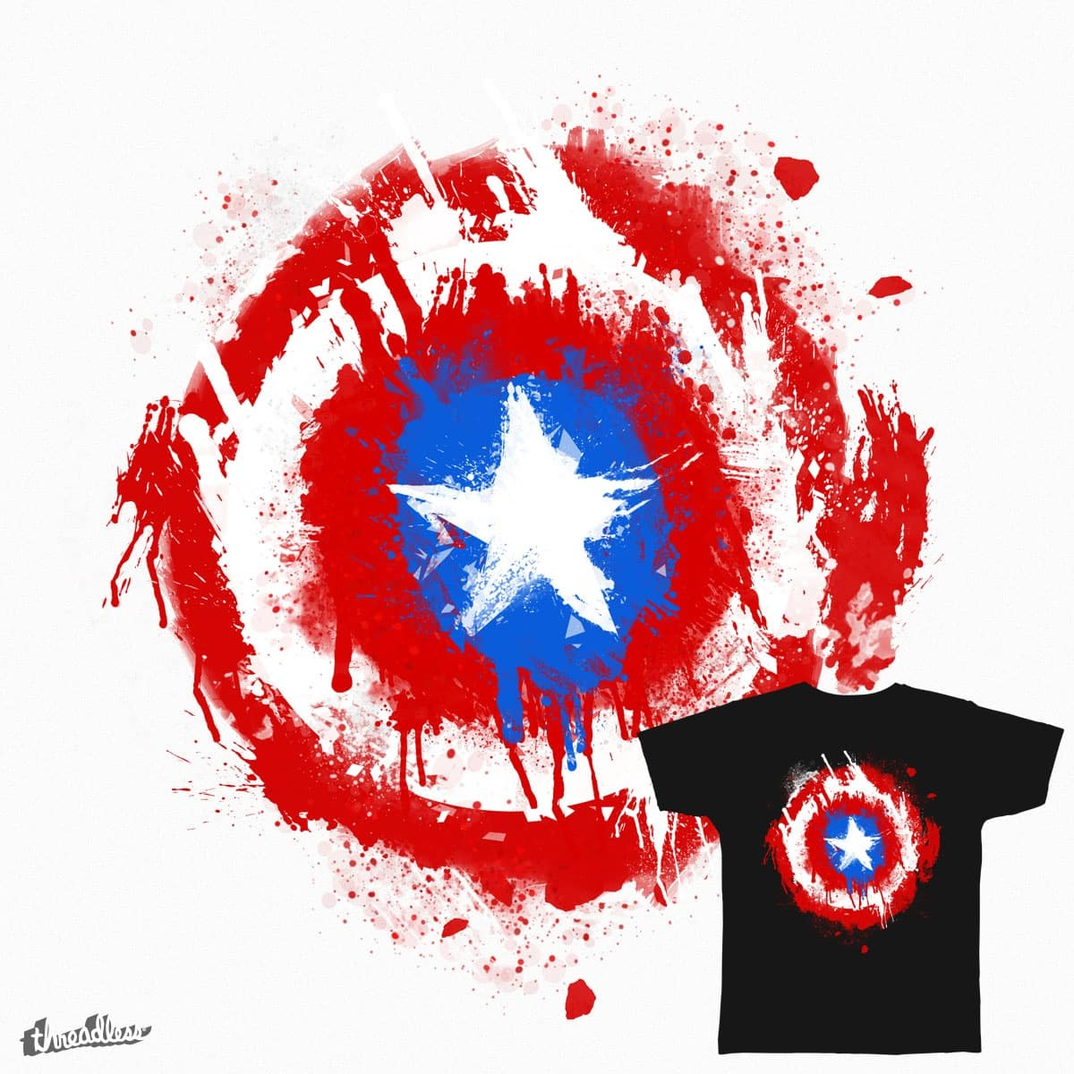 star shield by ben35dan on Threadless