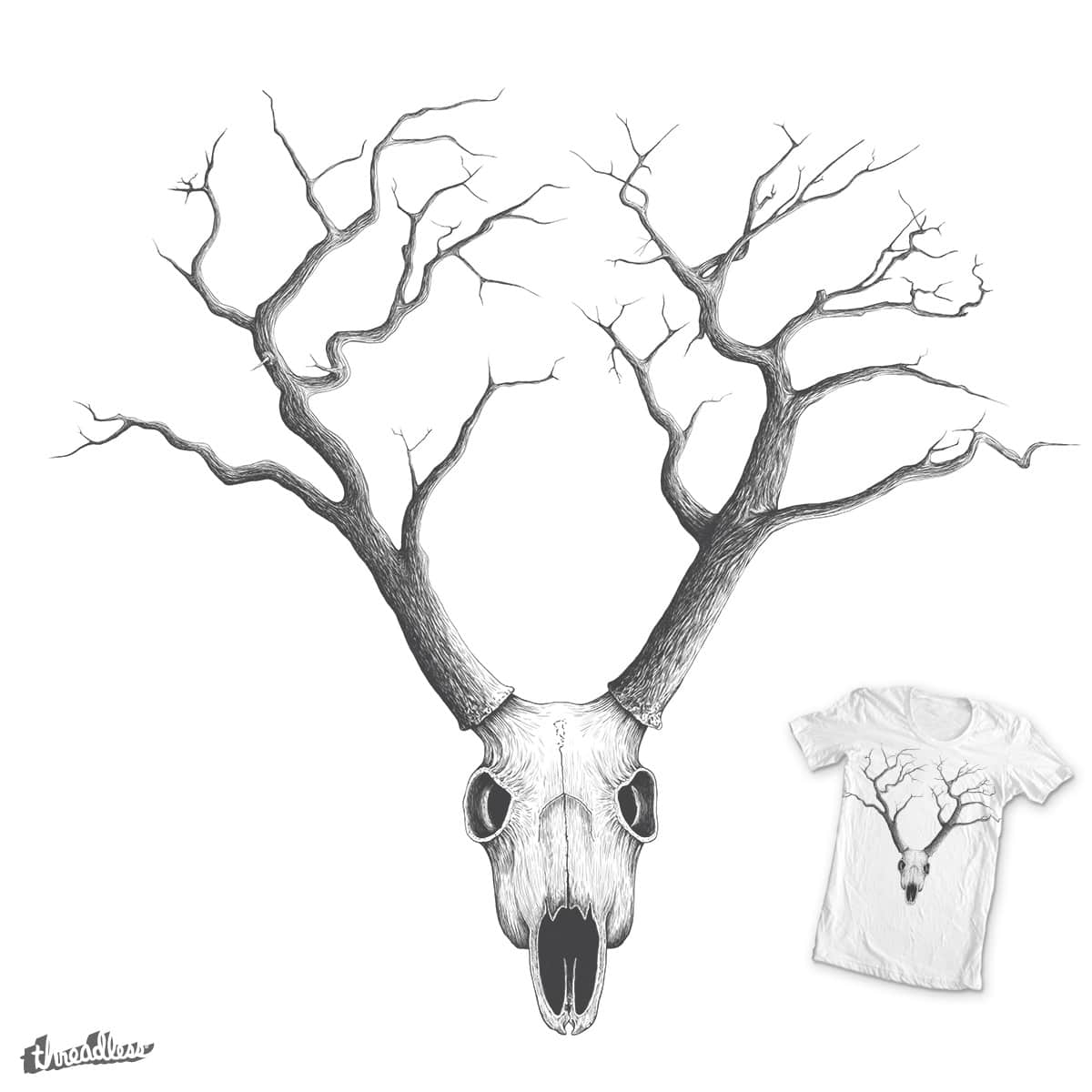 NO RAIN MY DEER by los tomatos on Threadless
