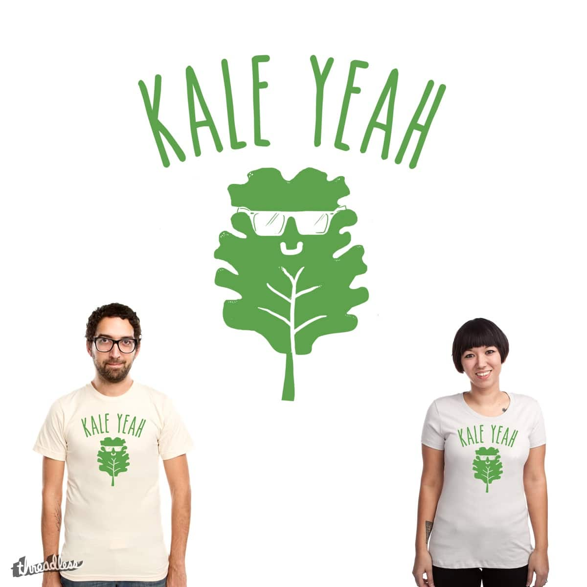 KALE YEAH! by GloopZ on Threadless