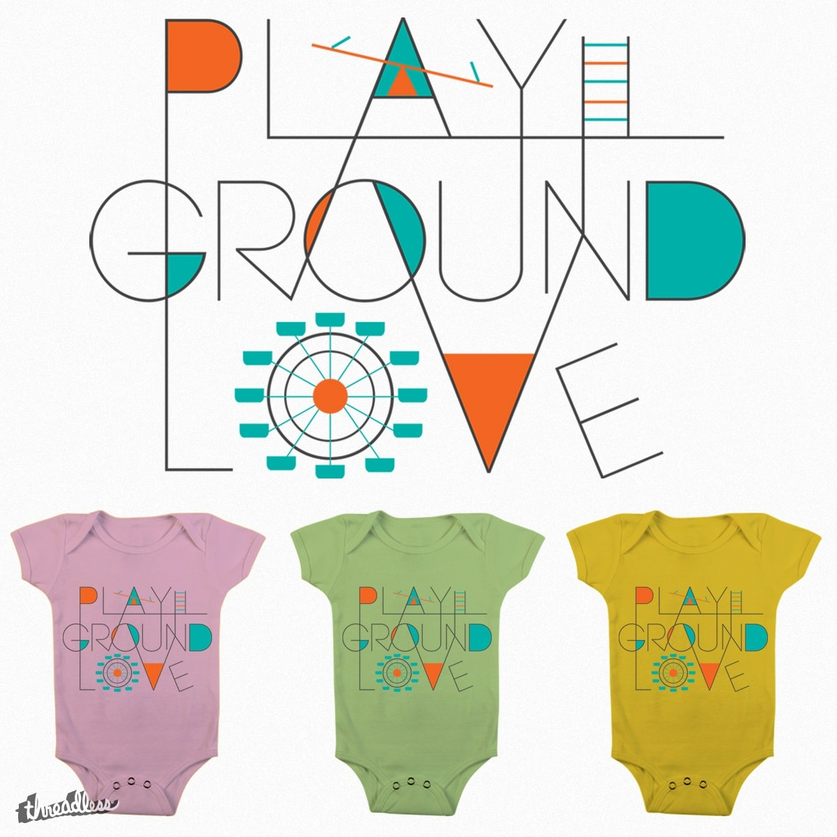 PLAYGROUND LOVE by artified on Threadless