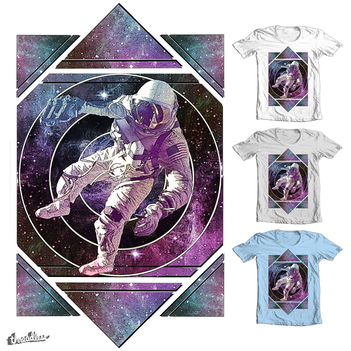 Space by PolySciGuy on Threadless