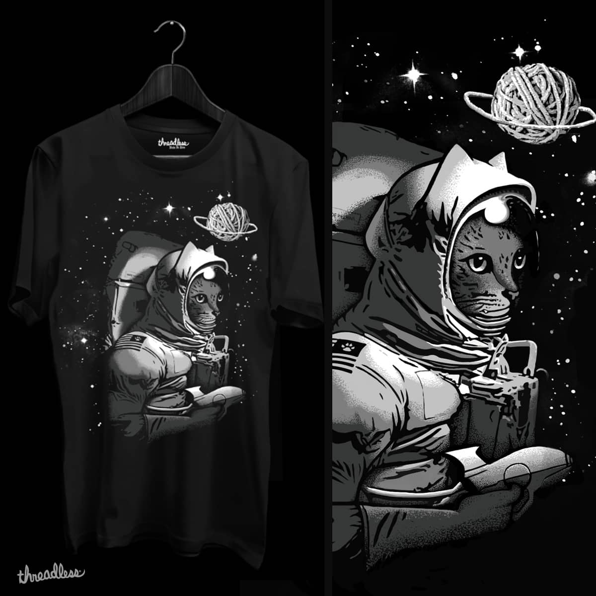 The Conquer of Caturn  by julero and goliath72 on Threadless