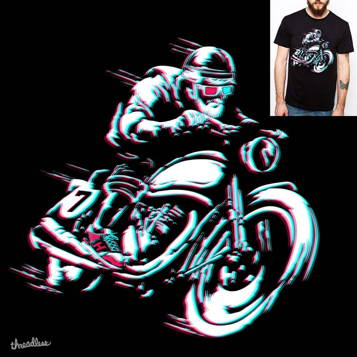 HIPSTER HOT RIDE by alfboc on Threadless