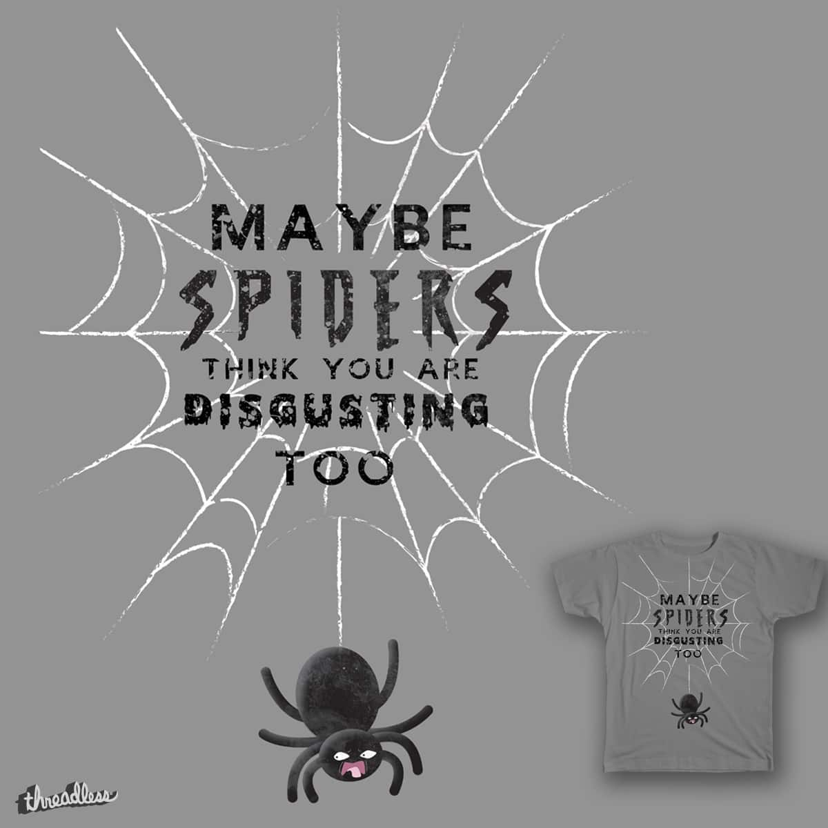 Spider's thought by TelecasterWood on Threadless