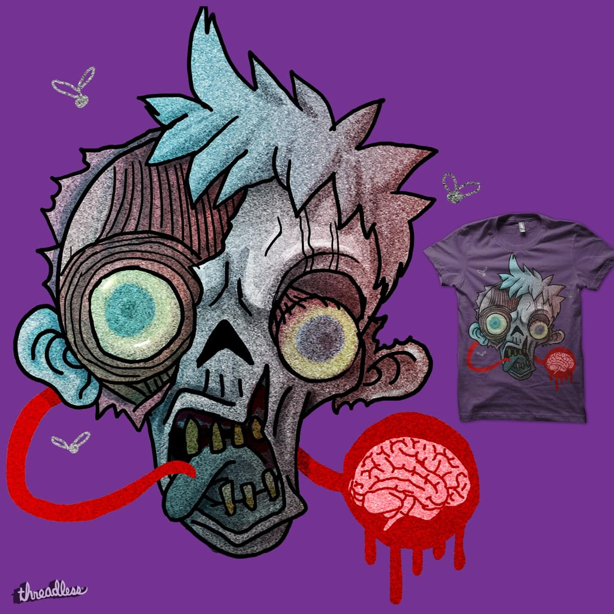 talk of the dead by thestray on Threadless