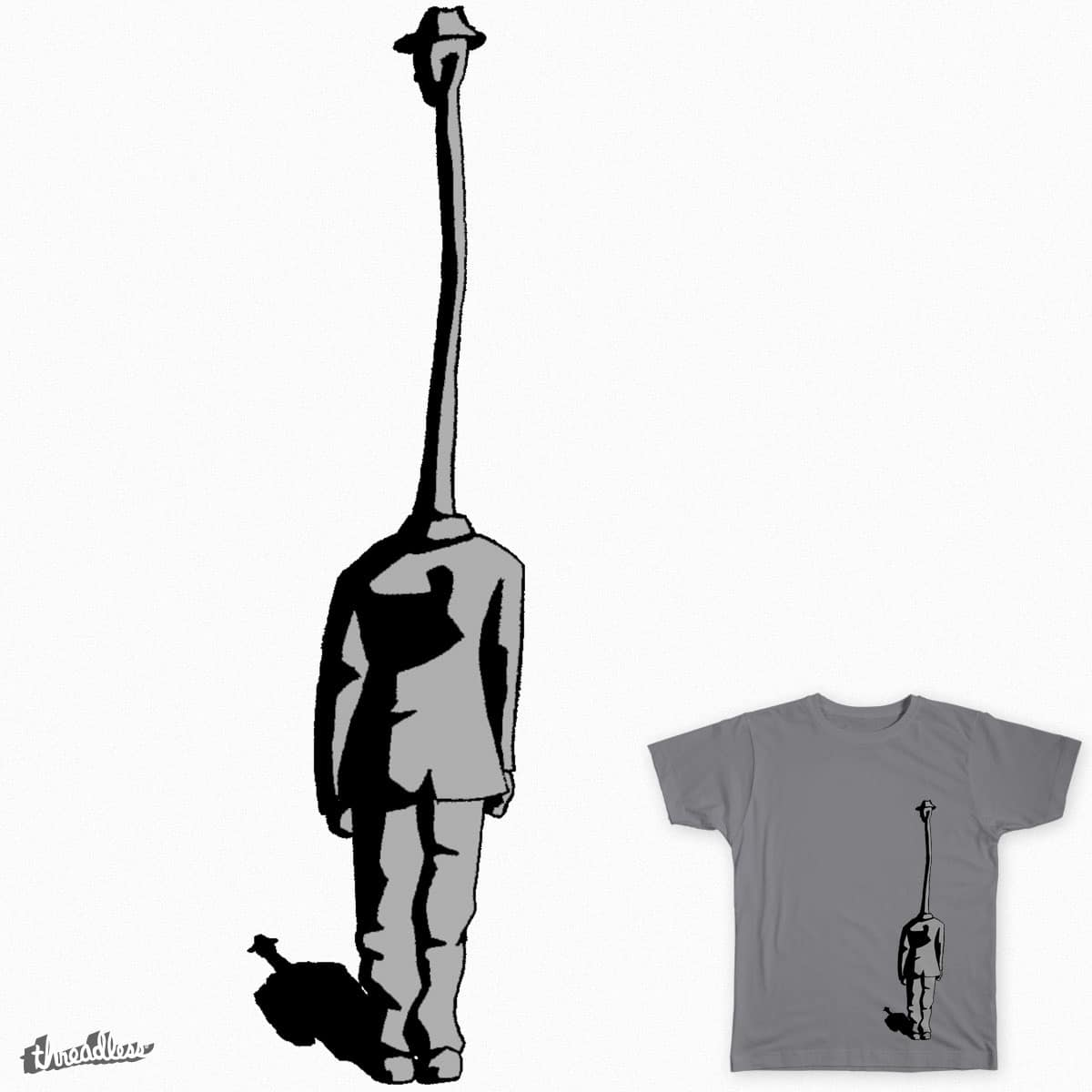 Long Necked Man by Green_sleeves on Threadless