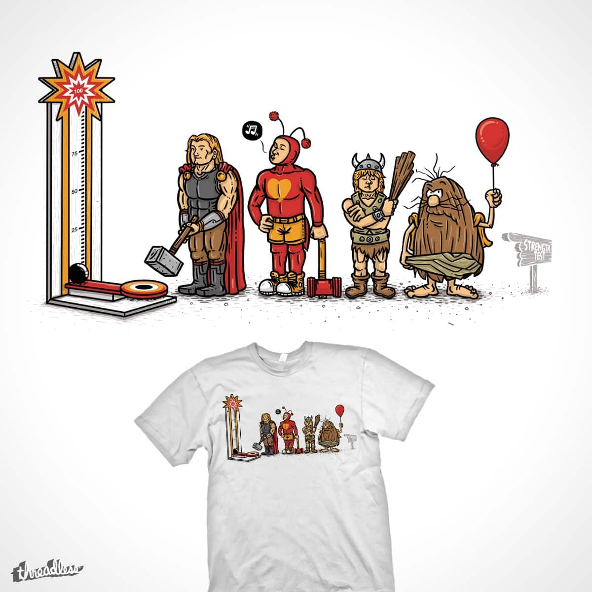 measuring force by eliude_valverde on Threadless