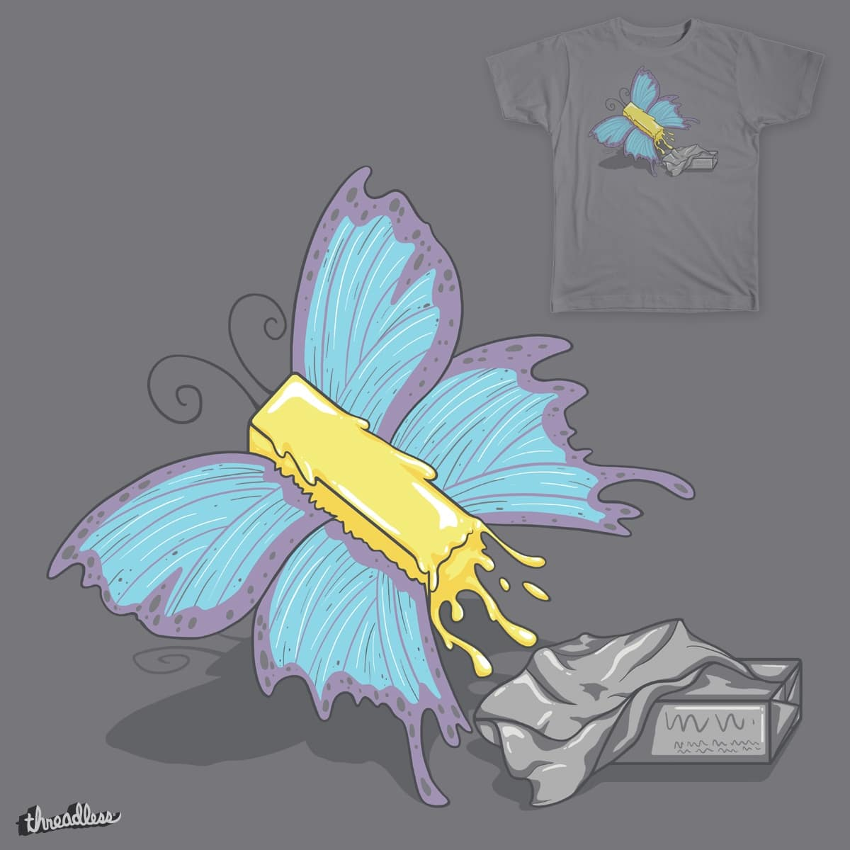 Butterfly by spookylili on Threadless